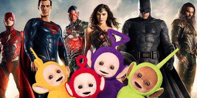 A gdyby tak Zack Snyder nakręcił Teletubisie? Żart operatora filmów DC