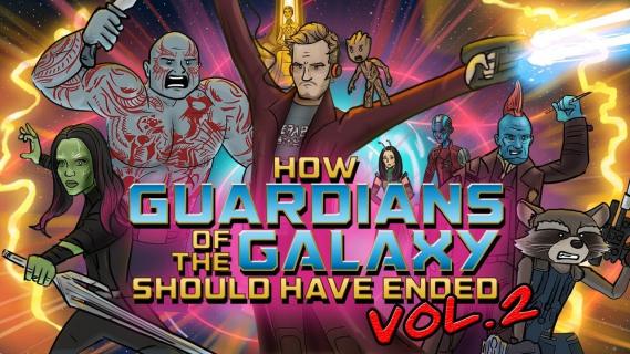 Jak powinni skończyć się Strażnicy Galaktyki 2? Zobacz wideo