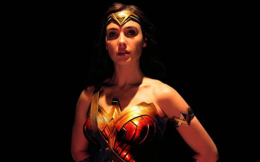 Liga Sprawiedliwości – Gal Gadot na ruchomym plakacie filmu