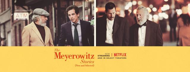 Opowieści o rodzinie Meyerowitz (utwory wybrane) – recenzja filmu