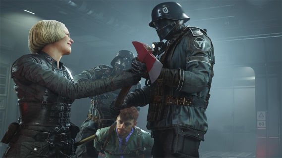 Hitler bez wąsów. Nietypowa cenzura w Wolfenstein II: The New Colossus