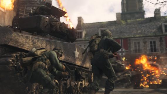 Call of Duty: WWII zarobiło pół miliarda dolarów w weekend
