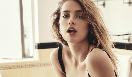 Piękna Amber Heard w nowej sesji zdjęciowej dla magazynu GQ