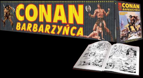 Kolekcja komiksów Conan Barbarzyńca powraca