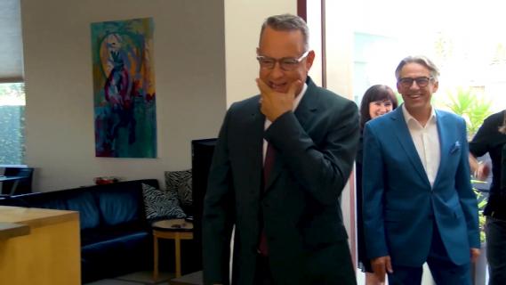 Tom Hanks i Rita Wilson oddali krew do badań nad szczepionkami przeciwko koronawirusowi