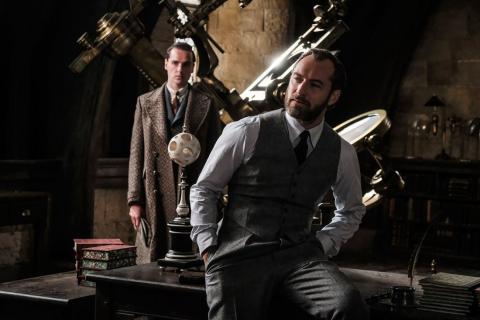 Kiedy zwiastun Fantastic Beasts: The Crimes Of Grindelwald?