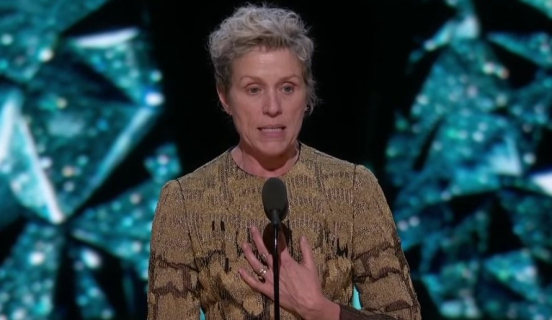 Oscary 2018: Przemówienie Frances McDormand robi furorę w sieci. Czym jest Inclusion Rider?