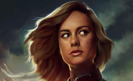 Brie Larson w latach 90. Zobacz zdjęcia z planu Captain Marvel
