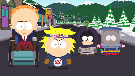 South Park: The Fractured but Whole trafi na Nintendo Switch