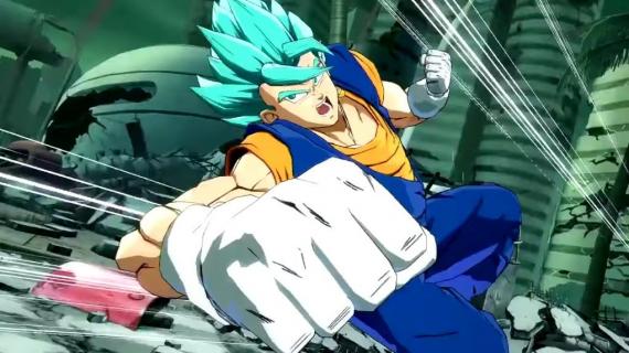 Super Saiyan Blue Vegito w Dragon Ball FighterZ. Zobacz zwiastun postaci