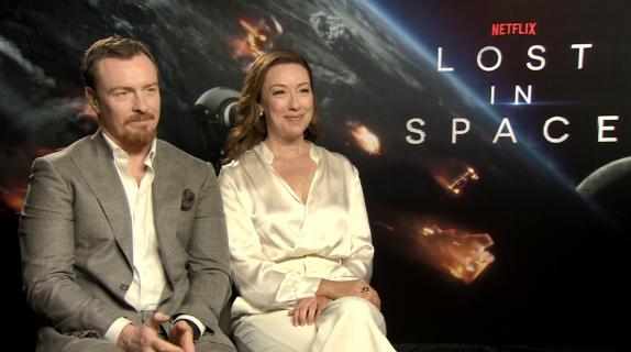 Molly Parker i Toby Stephens opowiadają nam o Zagubionych w kosmosie