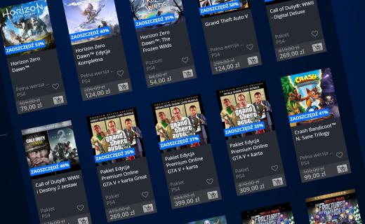 Nowa polityka zwrotów produktów z PlayStation Store