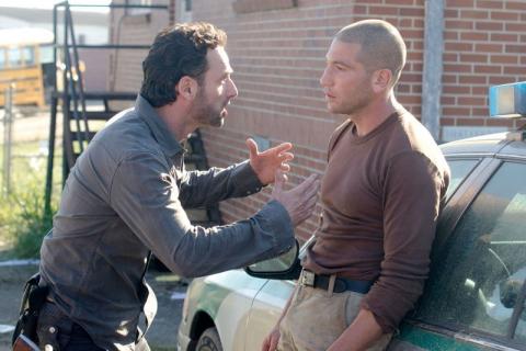Jon Bernthal na planie 9. sezonu The Walking Dead. Czy ma to związek z serialem?