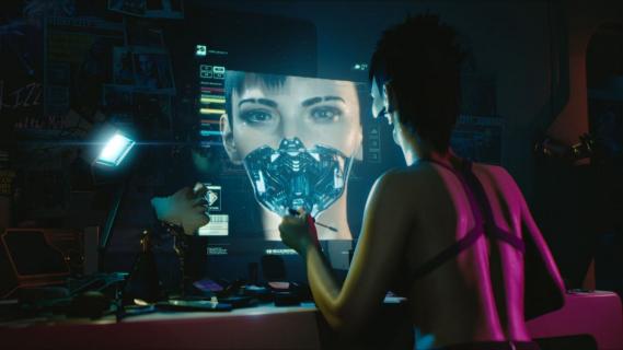 Cyberpunk 2077: W grze zwiedzimy wiele wnętrz wirtualnych budynków