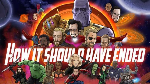 Avengers: Wojna bez granic od HISHE. Zobacz parodię filmu