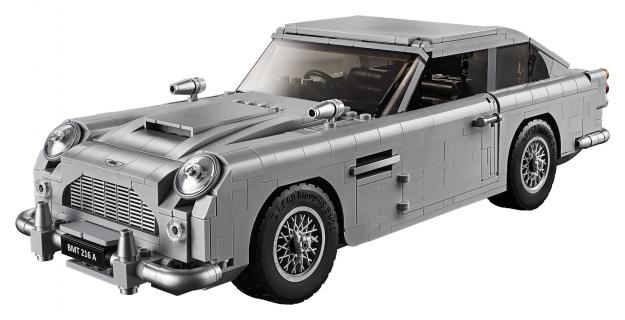 Samochód Jamesa Bonda w wersji LEGO. Zobacz zdjęcia nowego zestawu