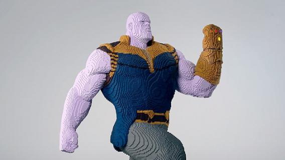 LEGO Thanos i świetny cosplay Iron Spidera. Avengers: Wojna bez granic – zobacz materiały