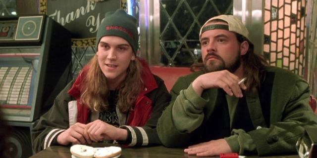 Jay i Cichy Bob - superbohaterowie Bluntman i Chronic na plakacie z rebootu filmu