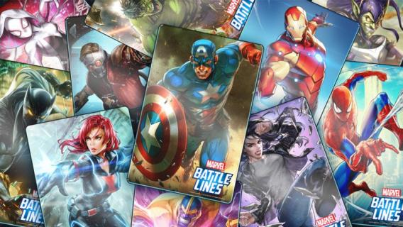 [SDCC 2018] Bohaterowie Marvela w grze karcianej. Zapowiedziano MARVEL Battle Lines
