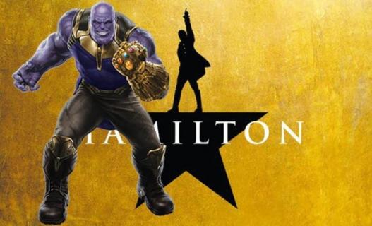 Luke Skywalker też wymazany. Thanos śpiewa Hamiltona – zobacz parodię