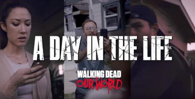 The Walking Dead: Our World zadebiutowało. Mobilna gra AR w stylu Pokemon Go