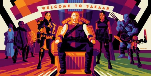 Thor: Ragnarok – takie plakaty rozdano członkom ekipy. Zobacz świetną grafikę
