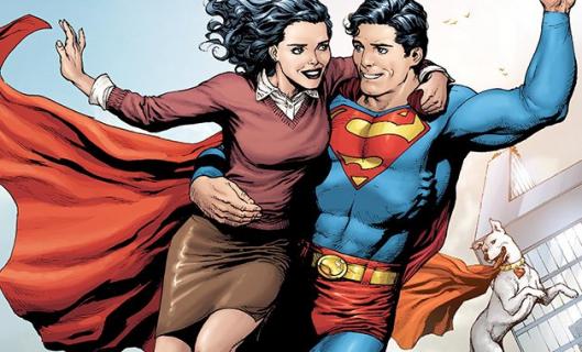 Lois Lane i Superman w crossoverze Arrowverse. Oficjalne zdjęcie