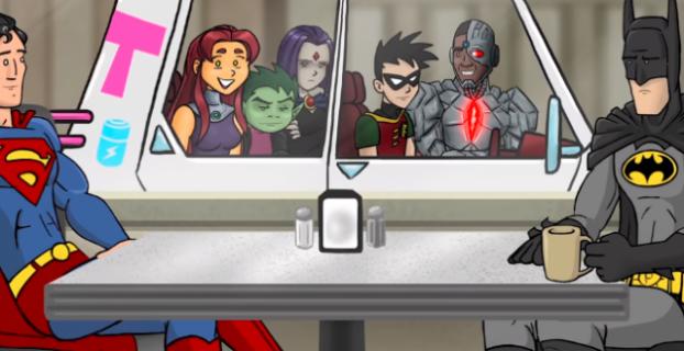 Batman komentuje wulgaryzmy Robina w zabawnym wideo
