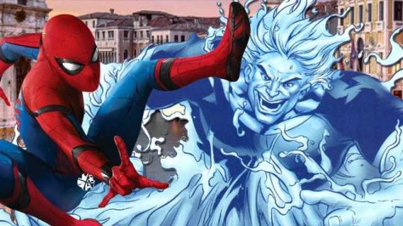 Wideo z planu Spider-Man: Far From Home może sugerować złoczyńcę