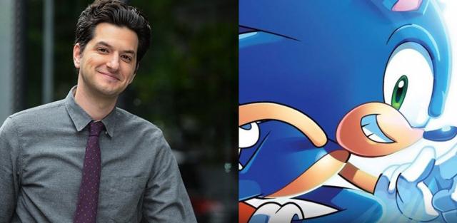 Ben Schwartz z główną rolą w filmie Sonic the Hedgehog