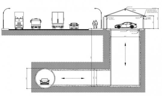 Elon Musk chce połączyć nasze garaże z podziemnymi drogami