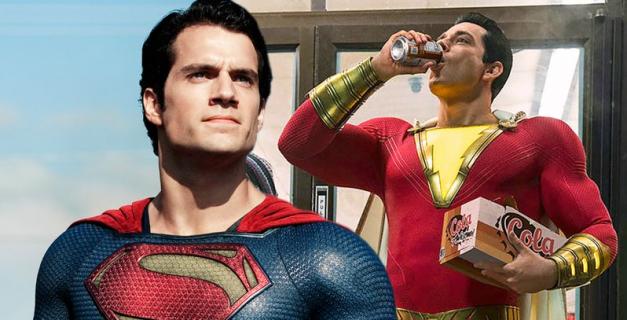 Shazam! - tak miało wyglądać pełne cameo Supermana. Reżyser ujawnia