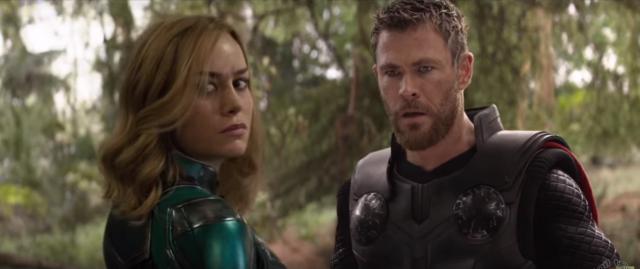 Captain Marvel w Avengers: Wojna bez granic. Zobacz fanowski montaż
