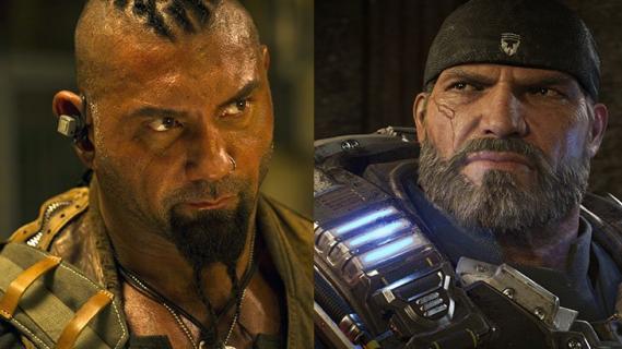 Dave Bautista o roli w filmie Gears of War: To moje przeznaczenie