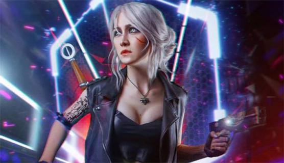 Wiedźmin jak Cyberpunk 2077. Piękna cosplayerka podbija sieć – zobacz galerię
