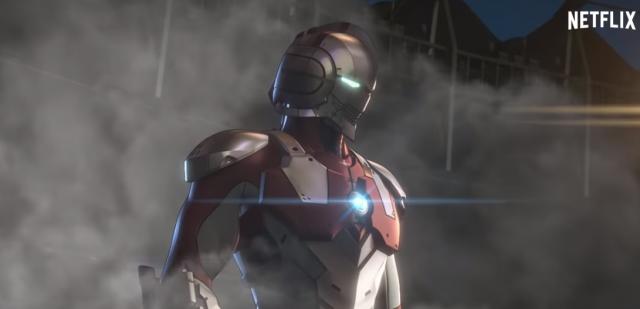 Ultraman – fragment serialu anime Netflixa. Zobacz transformację bohatera