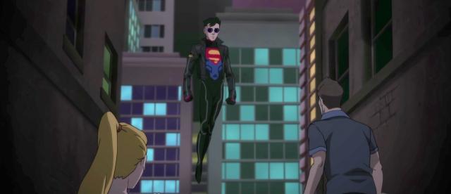 Reign of the Supermen – Superboy w akcji. Zobacz nowy klip z animacji