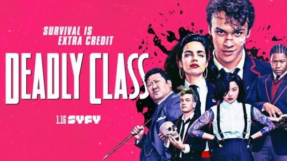 Deadly Class – oto Saya. Bohaterka serialu w nowym teaserze