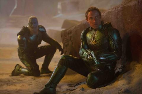 Kapitan Marvel – książkowy tie-in potwierdza, kogo naprawdę gra Jude Law