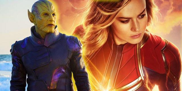 Kapitan Marvel – to nie Szatan Serduszko, tylko Skrulle w MCU. Nowe zdjęcia