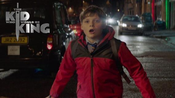 Dzieciak, który został królem – spot pokazuje sceny z filmu fantasy