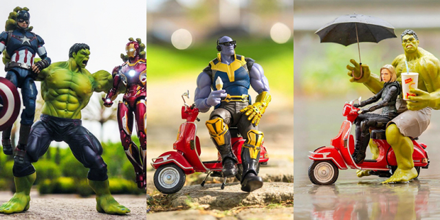 Co Avengers robią w ukryciu? Te zdjęcia podbiły sieć