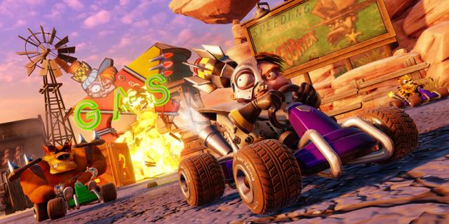 Crash Team Racing Nitro-Fueled: Nowy zwiastun gry przedstawia szaloną rozgrywkę