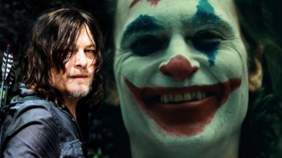 Joker – Norman Reedus kibicuje Phoenixowi: On ma super talent