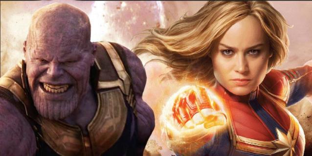 Avengers: Koniec gry – Thanos bał się Kapitan Marvel już wcześniej? Teoria