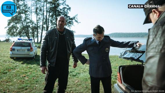 Mały Zgon - nowy zwiastun serialu Juliusza Machulskiego w klimacie czarnej komedii