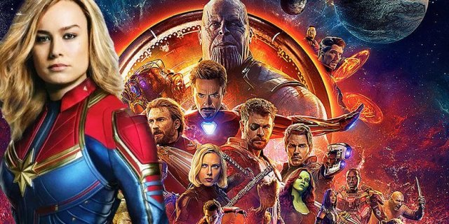 IMAX: Kapitan Marvel startuje lepiej niż Avengers: Wojna bez granic