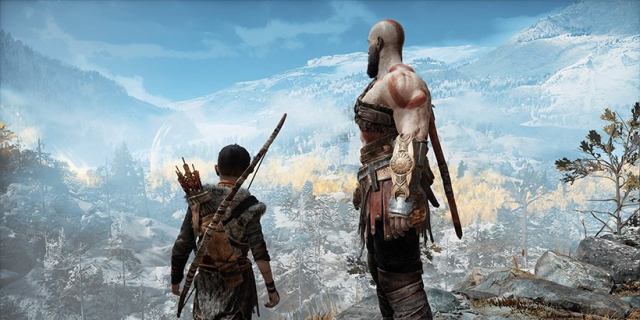 God of War z widokiem z pierwszej osoby i... Kratosem bez brody. Zobacz fanowskie wideo