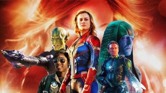 Kapitan Marvel – recenzja spoilerowa