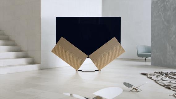 Projektanci Bang & Olufsen pokazali telewizor ze składanymi głośnikami
